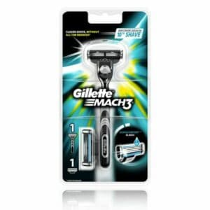 Køb Gillette MACH3 Barberskraber (Inkl. 2 Barberblade)
